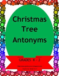 This is a literacy unit.  It focuses on Antonyms.  Your students will love this vibrant colored unit.  It includes various extension activities.