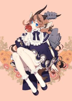 Shared by Find images and videos about art, anime and anime girl on We Heart It - the app to get lost in what you love. Game Character Design, Character Concept, 2d Character, Cute Characters, Anime Characters, Overlays, Game Concept Art, Anime Poses, Animal Ears