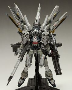 RG 1/144 Strike Freedom Gundam HWS (Heavy Weapon System) - Customized Build   Modeled by HH_innov