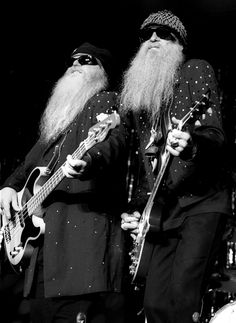 ZZ Top - Saw them in concert with Leonard Skynard! Music Love, Music Is Life, Rock Music, Rock & Pop, Rock N Roll, Hard Rock, Rock Y Metal, Billy Gibbons, Stoner Rock