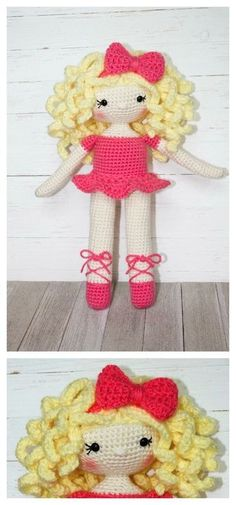 This free crochet doll pattern has been an absolute joy to make! Perfect for the little one that dreams of being a ballerina. If you