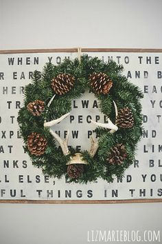 Rustic DIY Pinecone