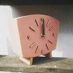 #Pink clock   #clockwoodstudio #rustic #dirtypink #vintagestyle #woodenclocks #woodworking #handmade #homedecor #pinkdecor #cute #gift #wood #unique #bestofday  #instagood #unique