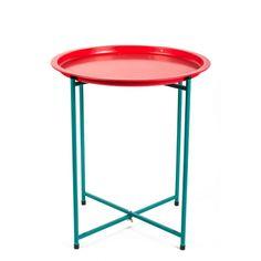 Для яркогои стильногоскладногостолаTavole, разработанного  для Seletti,придумать применениене сложно. Использовать его  можно как кофейный или прикроватный столик. Благодаря приподнятым краям столешницы, мелкие...
