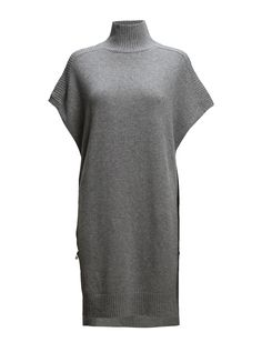 DAY - Day Evelyn-Ribbed edging Side zipper detail Modern silhouette Turtleneck Elegant sophistication with a modern twist Excellent quality and fit Ss16, Day Dresses, Spring, High Neck Dress, Turtle Neck, Silhouette, Elegant, My Style, Zipper