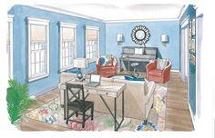 Living room makeover - The Washington Post - House Calls June13