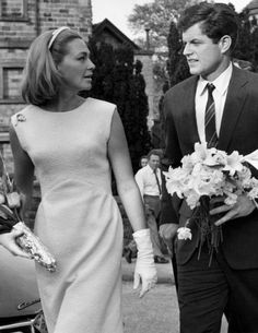 1965 - Joan Kennedy with Edward Kennedy he's the iconic one.