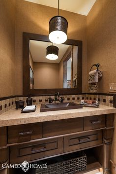 Bathroom By Cameo Homes Inc In Utah Park City Home Builders