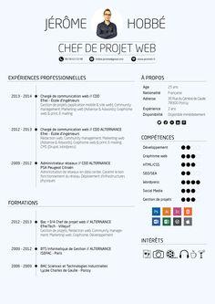 CV Chef de projet web