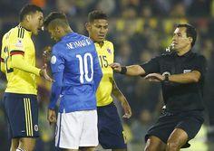 Copa... Colombia vs. Brazil