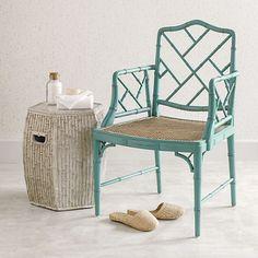 Grayson Armchair, Turquoise