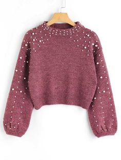 GET $50 NOW   Join Zaful: Get YOUR $50 NOW!https://m.zaful.com/faux-pearl-mock-neck-sweater-p_455971.html?seid=6415240zf455971