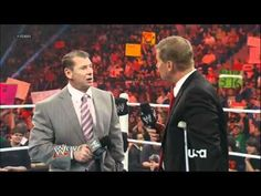 WWE Raw 6/11/12 Mr. Vince McMahon Returns
