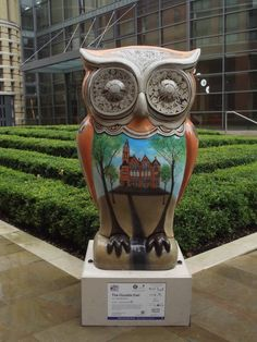 The Oozells owl. Big hoot owl raised £4,000 pounds at auction 15th October 2015