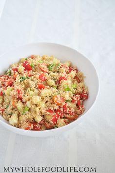 Healthy Quinoa Salad (Vegan and Gluten Free) - My Whole Food Life