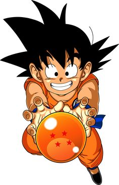 Dragon, dragon, dragon dragon Ball yeahhhh... This is my best character his name is well known GOKU but his nemesis VEGETA calls him KAKAROT. I much love this cartoon to the extent of re watching every time, passed it onto my little brother ahahahahah.... :) :) :)
