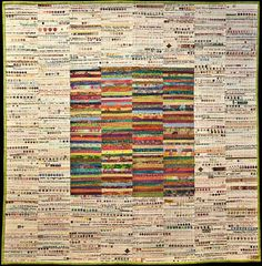 Quilt Magazine | Quilt Magazine » Blog Archive » Quilt of the Day - selvedge quilt, I'm in awe!
