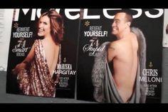 Chris recreated Mariska's magazine cover!!! So funny!!! SVU