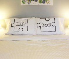 Puzzle Pillow Case Set