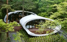 Maison Shell par Kotaro Ide - Journal du Design