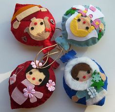 International christmas Ornaments