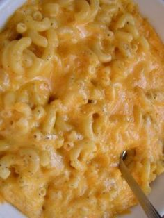 baked macaroni and cheese - no make ahead white sauce.
