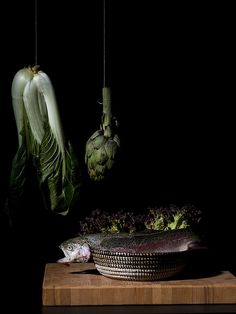 Carla Plukkel (Who wants to see pics of dead animals in a gastronomic still life?)