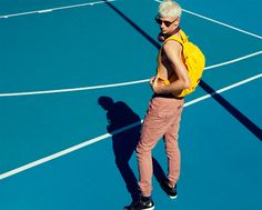 """""""Basketball Diaries"""". Claes photographed by Rodney Ye and styled by Chiara Bianchino in exclusive for Fucking Young! Online."""