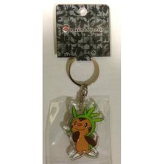 Pokemon Center 2014 Chespin Character Keychain