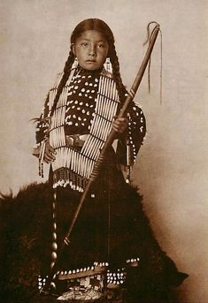 Oglala Sioux girl, 1900.