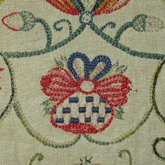 Crewel Woolwork  c 1700