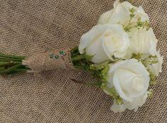 Bridesmaid posy by Peamore Flora