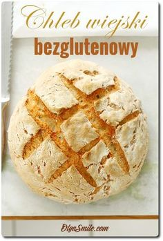 Gluten free bread Chleb biały bezglutenowy Dairy Free, Gluten Free, Sin Gluten, Avocado, Food And Drink, Desserts, Recipes, Buns, Breads