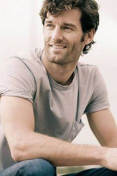 Mark Webber - I don't remember him looking this HOT when he used to sit in my office?!?!