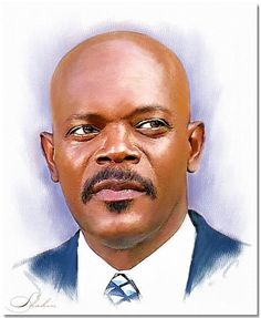 Portrait of Samuel L. Jackson by shahin on Stars Portraits, the biggest online gallery for celebrity portraits. Celebrity Portraits, Celebrity Caricatures, Samuel Jackson, Art Icon, Star Art, Famous Men, Online Gallery, Drawing People, Movie Stars
