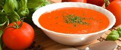 Basisches Rezept: Tomaten Birnen Suppe - super leicht und fruchtig!
