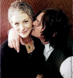 Melissa and Norman - The Walking Dead Norman The Walking Dead, Walking Dead Series, Melissa Mcbride, Daryl And Carol, Abraham Ford, My Sun And Stars, Dead To Me, Best Series, Daryl Dixon