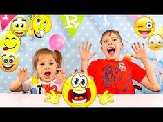 СМАЙЛ ЧЕЛЛЕНДЖ Emoji Challenge развлечение для детей Игра Эмодзи челленд...