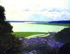 Vallotton, Felix (Swiss, View of Honfleur