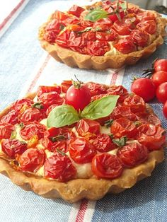 Mini quiches de tomates cherry