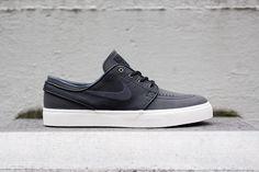 "Nike SB Zoom Stefan Janoski ""Ostrich"" Black/Anthracite"