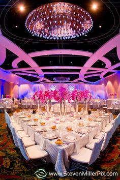 Phalaenopsis table decor (flowers by Lee Forrest Design, photo by: Steven Miller Photography) love this table set up!