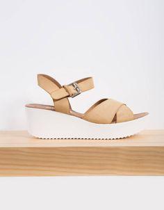 Sandalia plataforma track : CALZADO Calzado chica