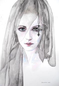 Black veil by ericadalmaso.deviantart.com on @deviantART
