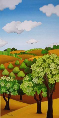 Campos de olivos