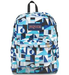Amazon.com  JanSport Overexposed Backpack (AQUA DASH FLUORESCENT RED)   Sports   Outdoors 8860dc93136ba
