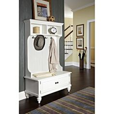 Shop for Home Styles Bermuda Hall Stand with Storage Bench. Get free shipping at Overstock.com - Your Online Furniture Outlet Store! Get 5% in rewards with Club O!