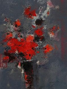 James Somerville (Scottish, b.1936) | Wild Flowers - acrylic on paper