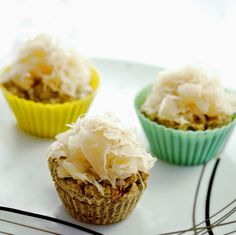 Bean Cupcakes- This week I decided to cook something completely different and tried one of the recipes I had in mind. Cookbook Recipes, Baking Recipes, Good Food, Yummy Food, Cupcakes, Bread Baking, Finger Foods, Muffins, Cooking