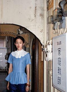 Tokyo Decadence| Manami Takami by Takashi Homma for Purple Fashion Fall 2012!: